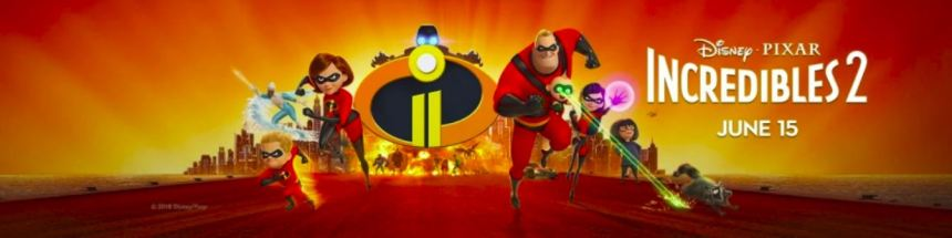 incredibles 2 banner